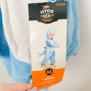 NWT 0-6 months Shark Costume